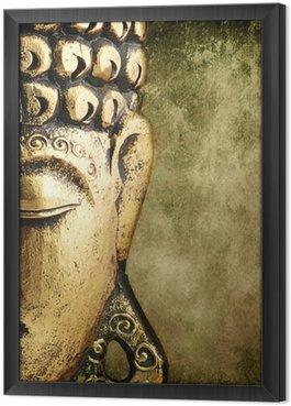 Tableau en Cadre Bouddha d or