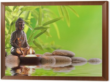 Tableau en Cadre Bouddha zen