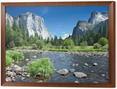 Tableau en Cadre Californie - Parc national de Yosemite