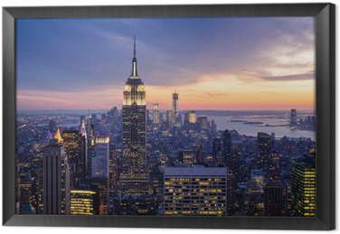 Tableau en Cadre City new york