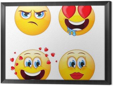 Tableau en Cadre Emoji