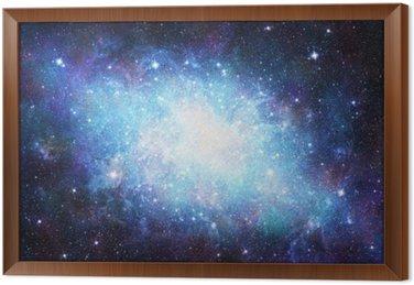 Tableau en Cadre Galaxie