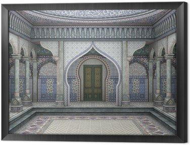 Tableau en Cadre Illustration 3d Oriental Palace
