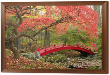 Tableau en Cadre Japanese garden