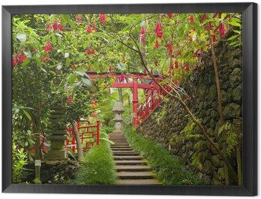 Tableau en Cadre Jardin oriental