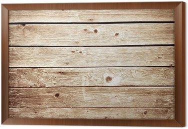 Tableau en Cadre Mur de bois