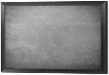Tableau en Cadre Pierre de brique de béton gris fond mur texture rugueuse