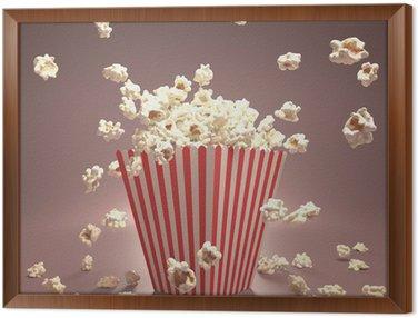 Tableau en Cadre Popcorn vol