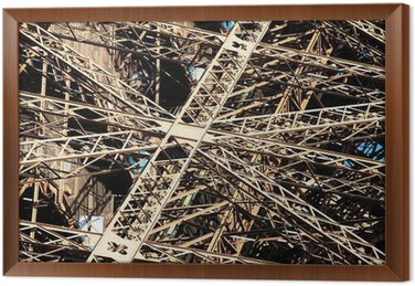 Tableau en Cadre Poutres de la Tour Eiffel