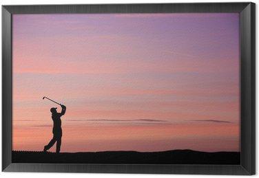 tableaux sur toile golf pixers nous vivons pour changer. Black Bedroom Furniture Sets. Home Design Ideas