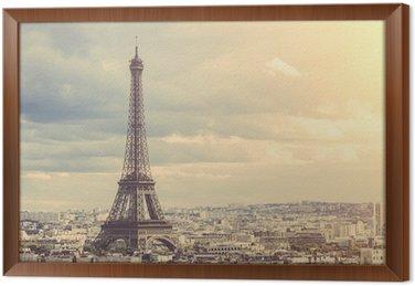 Tableau en Cadre Tour Eiffel à Paris