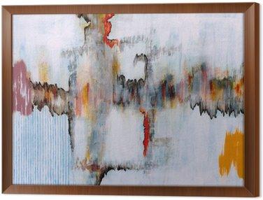 Tableau en Cadre Une peinture abstraite