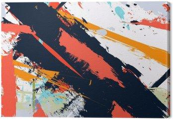 Tableau sur Toile Abstract grunge d'art en détresse seamless