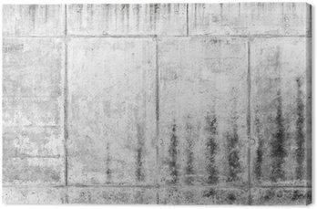 Tableau sur Toile Ancien rugueux mur de béton, texture gris de fond