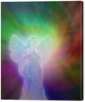 Tableau sur Toile Ange de l'Amour Divin