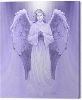 Tableau sur Toile Ange de Lumière Divine
