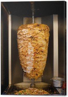 Tableau sur Toile Arabe poulet Spit cuisine Shawarma viande