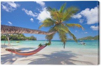Tableau sur Toile Baie Lazare, Seychellen
