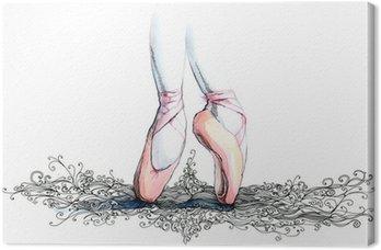 Tableau sur Toile Balet danseur (série C)