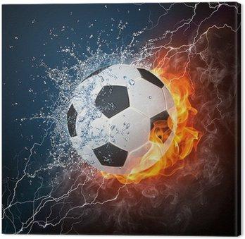 Tableau sur Toile Ballon football