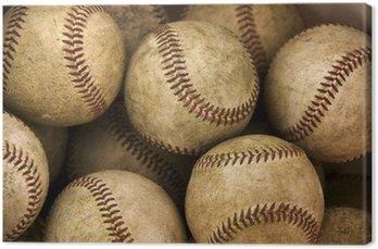 Tableau sur Toile Baseballs