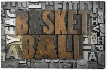"Tableau sur Toile ""basketball"