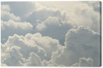Tableau sur Toile Beau ciel bleu et nuages