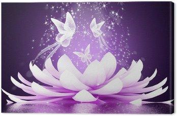 Tableau sur Toile Belle fleur de lotus