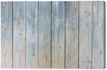 Tableau sur Toile Bleu bois vintage