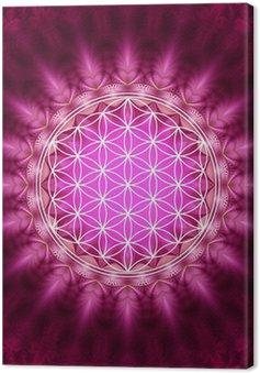 Tableau sur Toile Blume des Lebens - Energetisierung, Heilige Geometrie