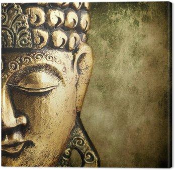 Tableau sur Toile Bouddha d or