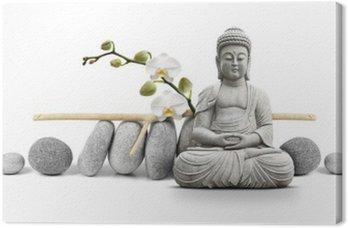 Tableau sur Toile Bouddha et Bien-être