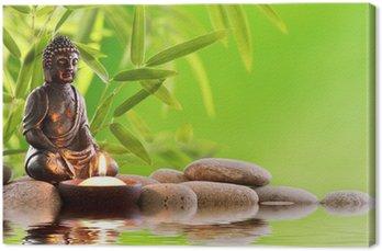 Tableau sur Toile Bouddha zen