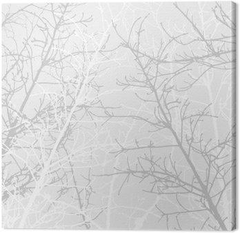 Tableau sur Toile Branches texture motif. fond souple.