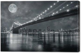 Tableau sur Toile Brooklyn bridge
