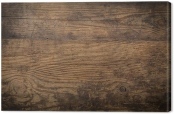 Tableau sur Toile Brown texture du bois. Résumé de fond