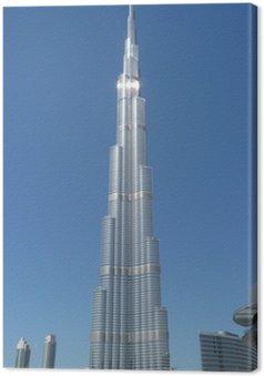 Tableau sur Toile Burj Khalifa à Dubaï