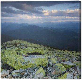 Tableau sur Toile Carpathian, montagne, paysage