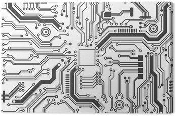 Tableau sur Toile Carte de circuit texture de fond