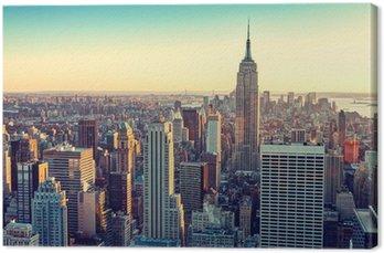Tableau sur Toile City new york
