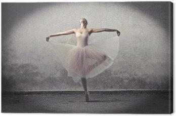 Tableau sur Toile Classique ballerine