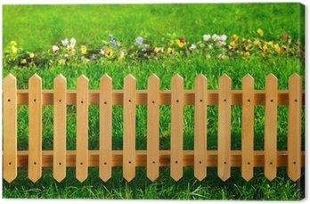 Papier Peint Clôture en bois de jardin • Pixers® - Nous vivons ...
