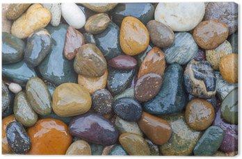 Tableau sur Toile Colorful de River Rock