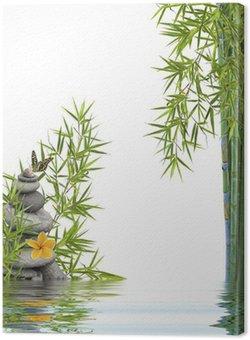 Tableau sur Toile Concept nature détente, bien-être, relaxation