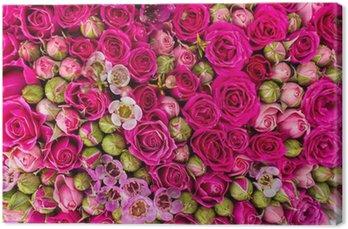 Tableau sur Toile Contexte abstrait de fleurs
