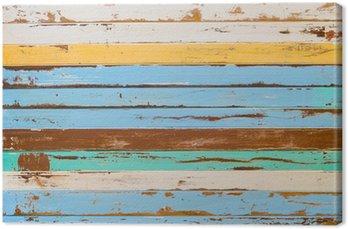 Tableau sur Toile Creative fond en bois abstrait