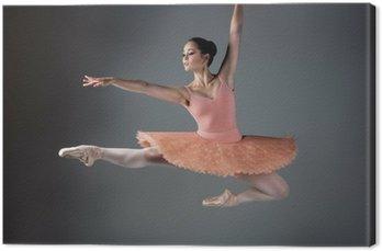 Tableau sur Toile Danseur de ballet féminin