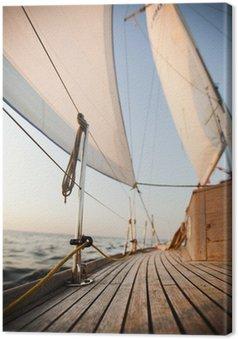 Tableau sur Toile De la mer Baltique sur le voile