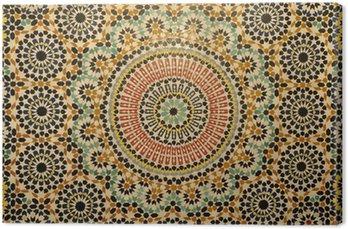 Tableau sur Toile Décoration en mosaïque Oriental au Maroc
