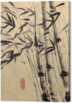 Tableau sur Toile Dessin original de bambou